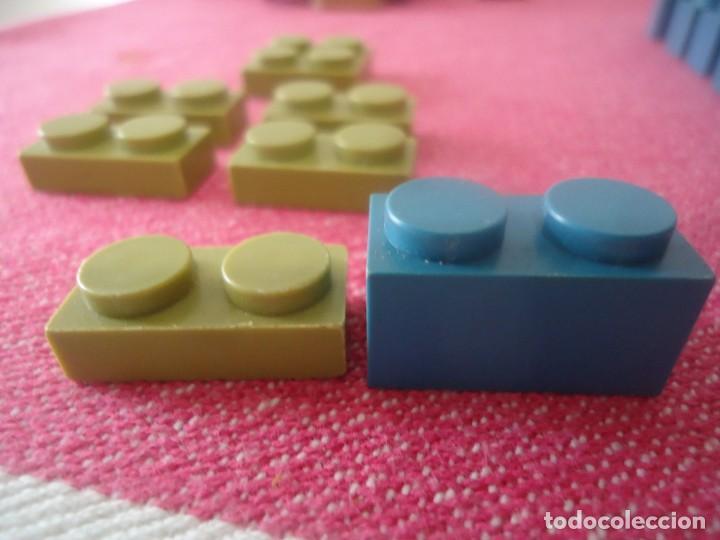 Juguetes antiguos Exin: Lote de 6 piezas Exin verdes - Foto 2 - 206559985