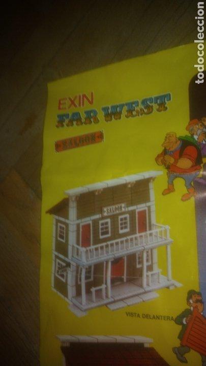 Juguetes antiguos Exin: SALOON. EXIN WEST. INSTRUCCIONES CON COMIC. VER FOTOS. - Foto 2 - 207042403