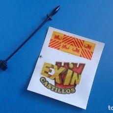 Juguetes antiguos Exin: MASTIL Y BANDERA EXIN CASTILLOS. Lote 207192625
