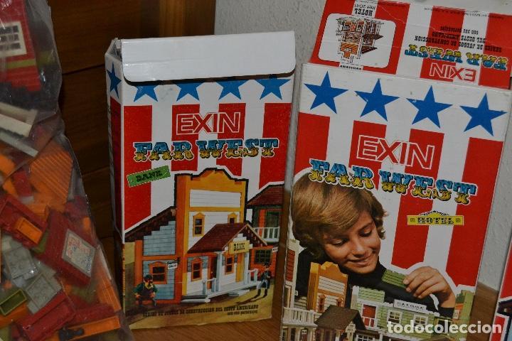 Juguetes antiguos Exin: Lote de Exin WEST BANCO HOTEL SALOON OFICINA SHERIF Exinwest NO EXIN CASTILLOS ORIGINAL AÑOS 70 80 - Foto 8 - 207405231