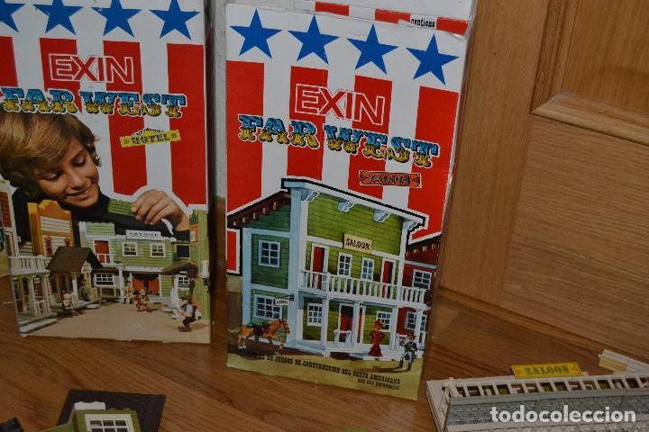 Juguetes antiguos Exin: Lote de Exin WEST BANCO HOTEL SALOON OFICINA SHERIF Exinwest NO EXIN CASTILLOS ORIGINAL AÑOS 70 80 - Foto 10 - 207405231