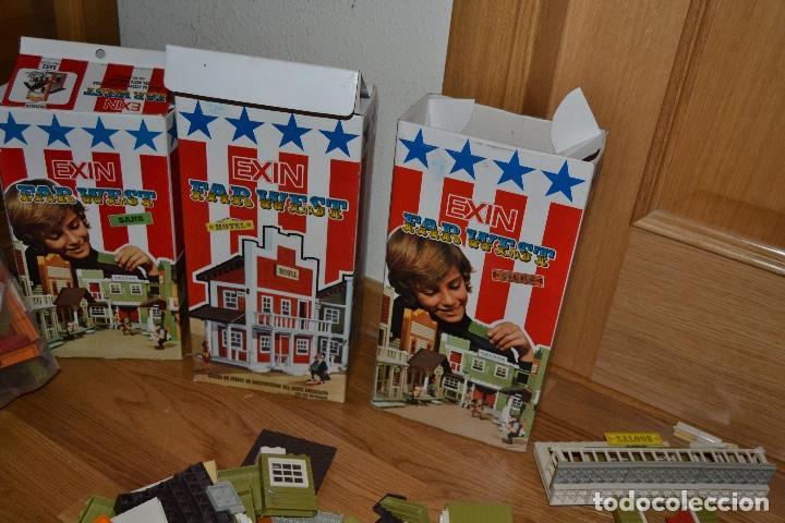 Juguetes antiguos Exin: Lote de Exin WEST BANCO HOTEL SALOON OFICINA SHERIF Exinwest NO EXIN CASTILLOS ORIGINAL AÑOS 70 80 - Foto 19 - 207405231