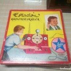 Brinquedos antigos Exin: ESTACION RADIOTELEGRAFICA EXIN DIBUJO SABATER MIREN FOTOS. Lote 207890081