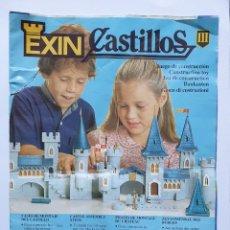 Juguetes antiguos Exin: INSTRUCCIONES EXIN CASTILLOS SERIE GOLDEN III 3. Lote 209870836