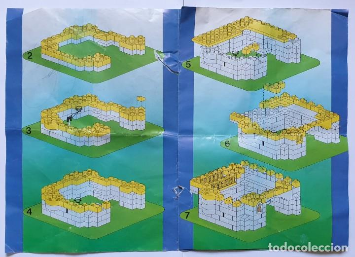 Juguetes antiguos Exin: INSTRUCCIONES EXIN CASTILLOS SERIE GOLDEN III 3 - Foto 2 - 209870836