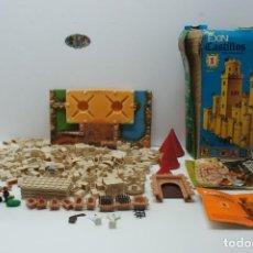 Brinquedos antigos Exin: EXIN CASTILLO Nº 1 CON ALGUNA FIGURA CAJA E INSTRUCCIONES .. Lote 210028461