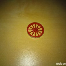 Brinquedos antigos Exin: EXIN WEST. PIEZA RUEDA DIAMETRO 3CM CARRETA/CARROMATO. Lote 210164443