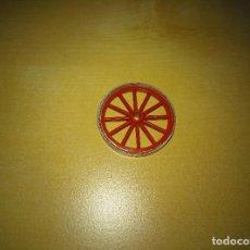 Brinquedos antigos Exin: EXIN WEST. PIEZA RUEDA DIAMETRO 3CM CARRETA/CARROMATO. Lote 210164525