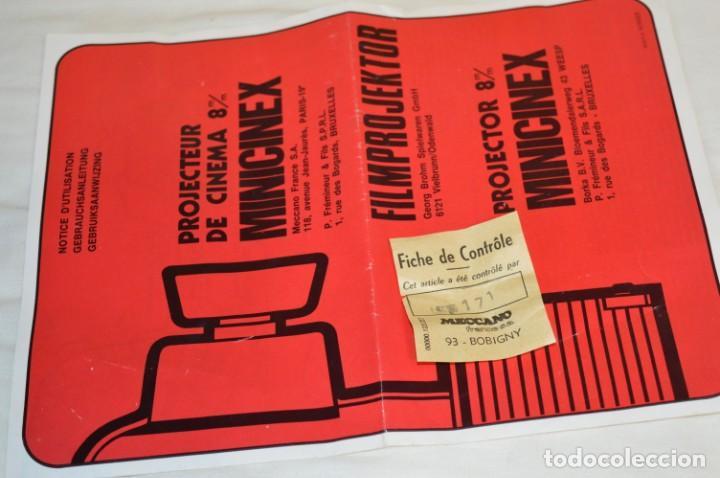Juguetes antiguos Exin: CINEXIN Francés - MINICINEX, de MECCANO y Licencia Kenner USA - ¡Muy curioso y raro, de colección! - Foto 15 - 210406750