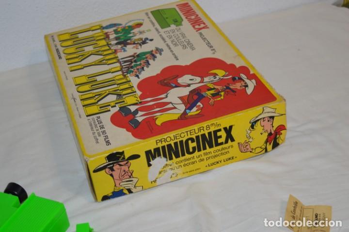Juguetes antiguos Exin: CINEXIN Francés - MINICINEX, de MECCANO y Licencia Kenner USA - ¡Muy curioso y raro, de colección! - Foto 22 - 210406750