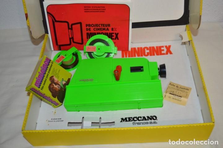 Juguetes antiguos Exin: CINEXIN Francés - MINICINEX, de MECCANO y Licencia Kenner USA - ¡Muy curioso y raro, de colección! - Foto 2 - 210406750