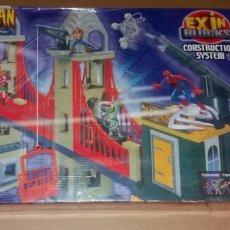 Juguetes antiguos Exin: EXIN BLOCKS - SPIDERMAN VS DR. OCTOPUS: BATALLA EN EL PUENTE. Lote 210639828