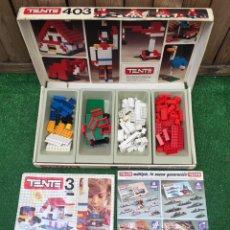 Brinquedos antigos Exin: TENTE 3 REF. 403 EXIN AÑOS 70 COMPLETO EN CAJA. Lote 210809447