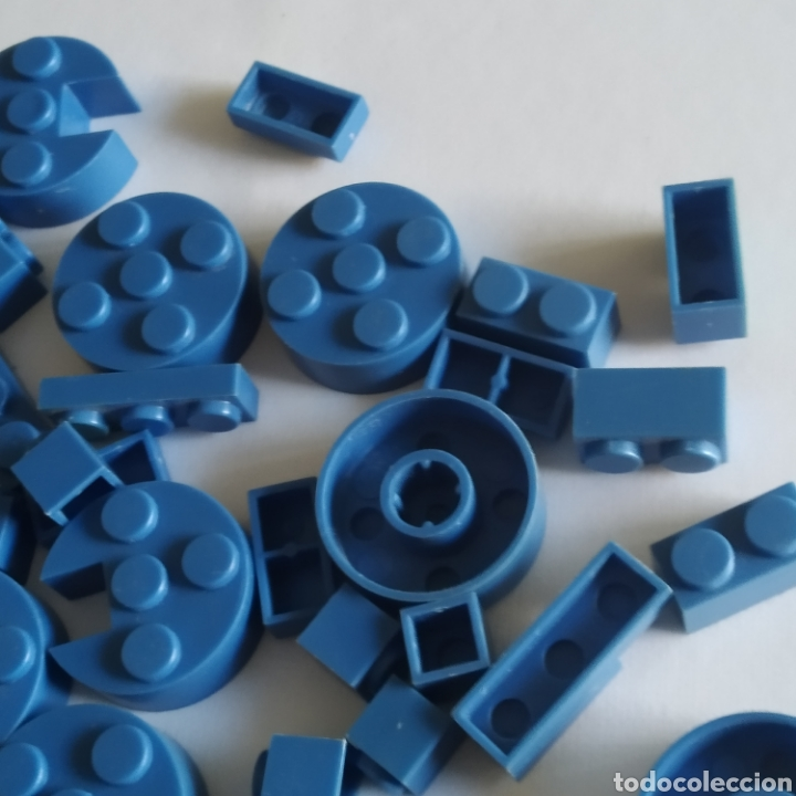 Juguetes antiguos Exin: Gran lote de piezas azules Exin Castillos Mansion Fantasma o Família Monster - Foto 9 - 211995642
