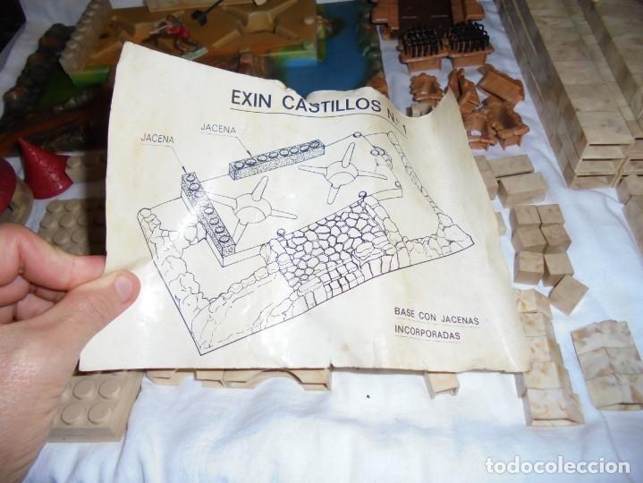 Juguetes antiguos Exin: EXIN CASTILLOS CAJA Nº 1.CAJA AJADA,CONTENIDO 335 PIEZAS.MASTIL Y ARQUERO.LO QUE SE VE EN LAS FOTOS - Foto 23 - 212307740