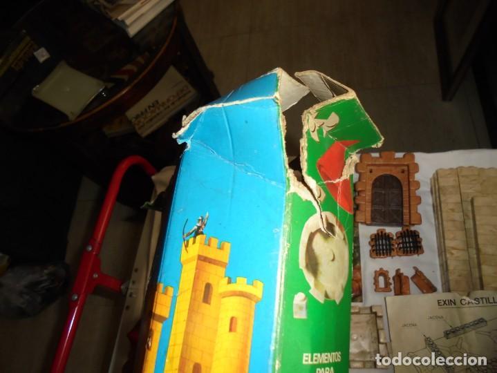 Juguetes antiguos Exin: EXIN CASTILLOS CAJA Nº 1.CAJA AJADA,CONTENIDO 335 PIEZAS.MASTIL Y ARQUERO.LO QUE SE VE EN LAS FOTOS - Foto 28 - 212307740