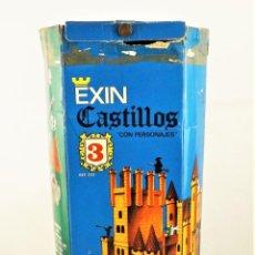 Juguetes antiguos Exin: EXIN CASTILLOS Nº 3. COMPLETO, INVENTARIADO 100% ORIGINAL Y EN CAJA ORIGINAL 100%. Lote 213877711