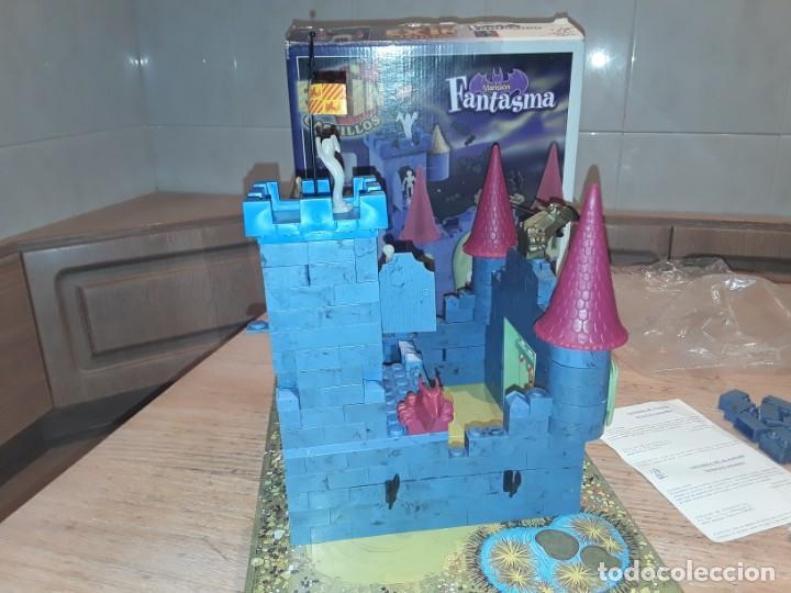 Juguetes antiguos Exin: Exin castillos mansion fantasma, completo. - Foto 6 - 213915896