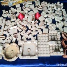 Juguetes antiguos Exin: LOTE DE PIEZAS EXIN CASTILLO 400 G. Lote 214045830