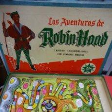 Juguetes antiguos Exin: LAS AVENTURAS DE ROBIN HOOD. JUGUETE EXIN. AÑOS 1960S. MBE. Lote 216979031
