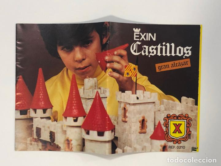 INSTRUCCIONES EXIN CASTILLOS GRAN ALCAZAR X. NUEVO (Juguetes - Marcas Clásicas - Exin)