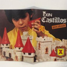 Juguetes antiguos Exin: INSTRUCCIONES EXIN CASTILLOS GRAN ALCAZAR X. NUEVO. Lote 217371132