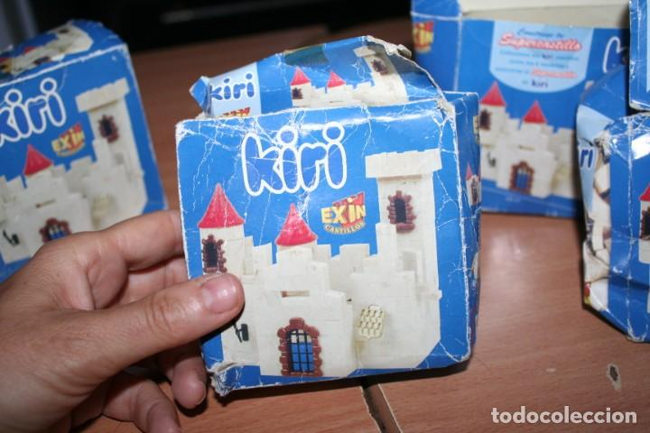 Juguetes antiguos Exin: caja kiri exin - Foto 4 - 217420958