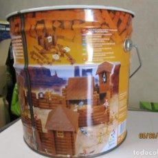 Juguetes antiguos Exin: CUBO EXIN WEST BATALLA DE FORT BRAVO CUBO VACIO. Lote 218533121