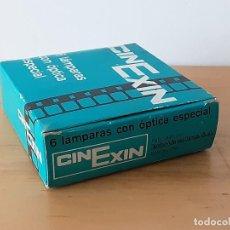 Giocattoli antichi Exin: CAJA 6 BOMBILLAS CINE EXIN.NUEVAS.. Lote 253152000