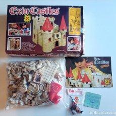 Brinquedos antigos Exin: EXIN CASTILLOS CASTLES X REF 0210 - GRAN ALCAZAR - EN CAJA Y BOLSAS SIN ABRIR - CON INSTRUCCIONES. Lote 218823371