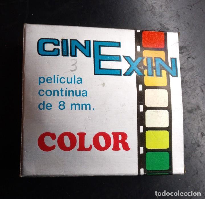 JUGUETE, PELICULA CNEXIN, CINE EXIN 8 MMM. - OPERACION AVION MARTILLO, CON FOLLETOS (Juguetes - Marcas Clásicas - Exin)