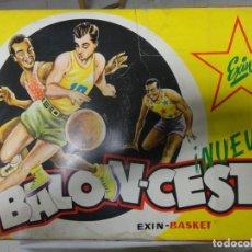 Juguetes antiguos Exin: ANTIGUO JUEGO DE BALONCESTO EXIN BASKET. AÑOS 60. Lote 219343448