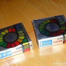 Juguetes antiguos Exin: CINEXIN LOTE 2 PELICULAS TOTALMENTE NUEVAS. Lote 244518840