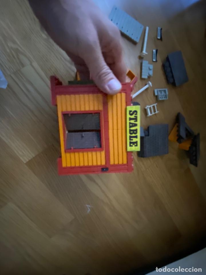 Juguetes antiguos Exin: EXIN WEST MODELO STABLE Incompleto ORIGINAL AÑOS 70 80 - Foto 15 - 220648812