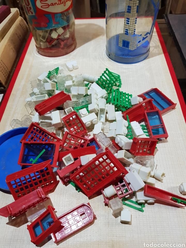 Juguetes antiguos Exin: Lote de piezas Exin block leer descripción - Foto 2 - 221714652