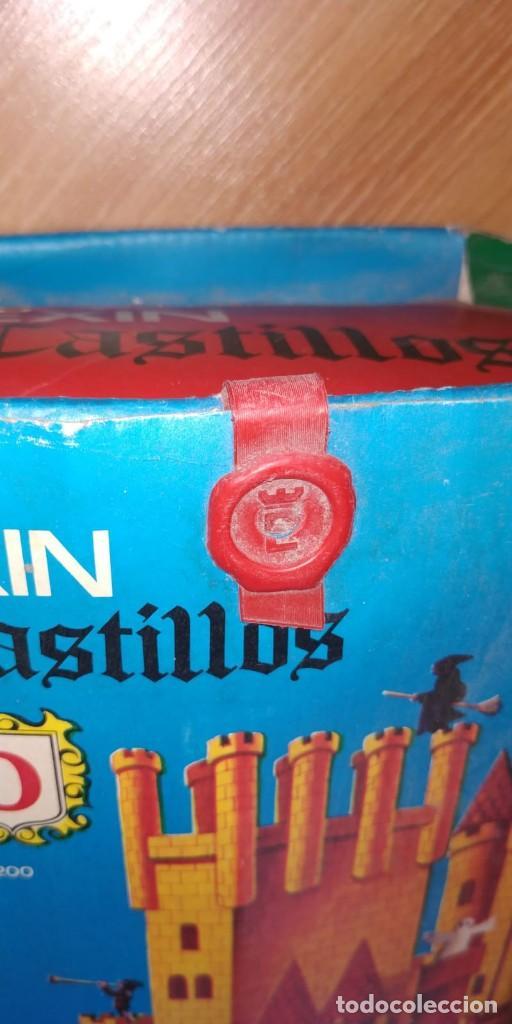 Juguetes antiguos Exin: EXIN CASTILLOS, NUMERO 0. REF. 200. PRECINTADO. CON CAJA ORIGINAL. BUEN ESTADO, VER FOTOS. - Foto 3 - 222004926