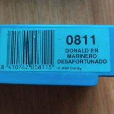 Juguetes antiguos Exin: PELÍCULA SUPER 8 CINE EXIN. 0811 DONALD EN MARINERO DESAFORTUNADO. PRIMERA ÉPOCA.. Lote 222443742