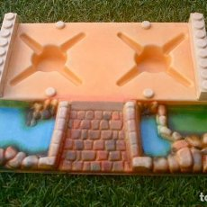 Juguetes antiguos Exin: BASE EXIN CASTILLOS SERIE AZUL.. Lote 235718605