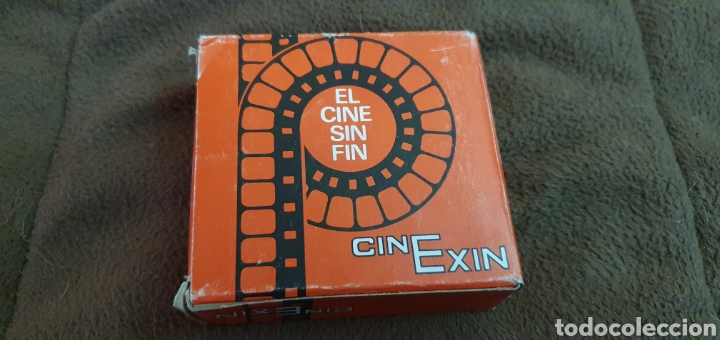 Juguetes antiguos Exin: CINE EXIN PELÍCULA CONTINUA DE 8MM. PLUTO EL HUESO Y SU RIVAL - Foto 2 - 224356242