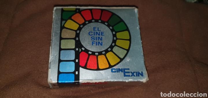 Juguetes antiguos Exin: CINE EXIN PELÍCULA COLOR CONTINUA DE 8 MM.TOM Y JERRY BATALLA CAMPAL - Foto 2 - 224356678