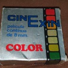 Juguetes antiguos Exin: CINE EXIN PELÍCULA COLOR CONTINUA DE 8 MM.TOM Y JERRY BATALLA CAMPAL. Lote 224356678