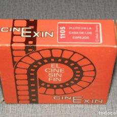 Jouets anciens Exin: PELICULA CINE EXIN, REF 1105, PLUTO EN LA CASA DE LOS ESPEJOS, EN CAJA B/N. Lote 224668175