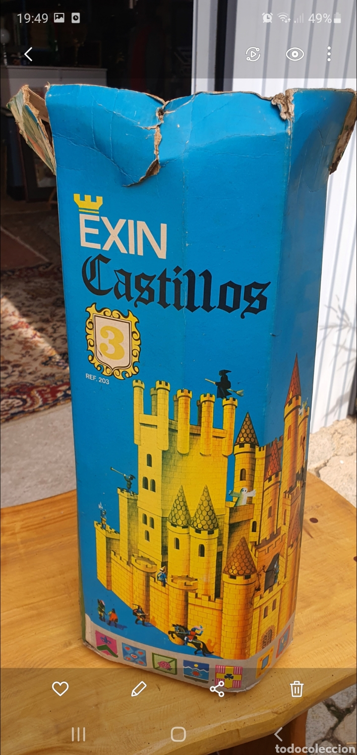 EXIN CASTILLOS 3 (Juguetes - Marcas Clásicas - Exin)
