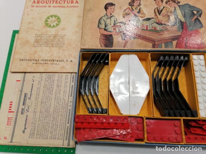 Juguetes antiguos Exin: ARQUITECTURA EXIN EN BLOQUES (198) - Foto 3 - 228923375