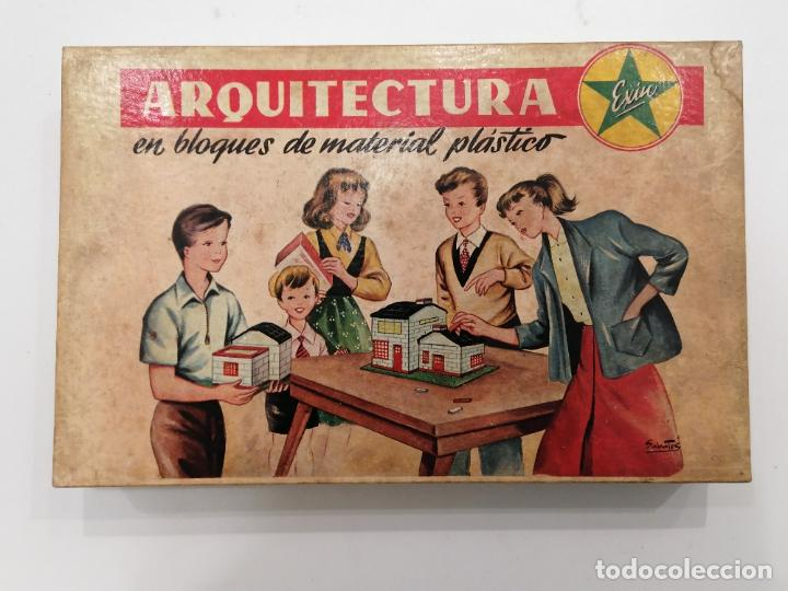 ARQUITECTURA EXIN EN BLOQUES (198) (Juguetes - Marcas Clásicas - Exin)