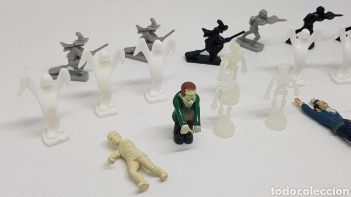 Juguetes antiguos Exin: LOTE DE 19 FIGURAS PERSONAJES EXIN CASTILLOS BRUJA FANTASMA BALLESTERO - Foto 3 - 229610875