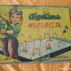 Juguetes antiguos Exin: GHYNKAMA MOTORISTA - EXCLUSIVAS INDUSTRIALES S.A. EXIN - AÑOS 50 - ENVEJECIDO POR EL TIEMPO AÑOS 50. Lote 229833045