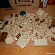 Juguetes antiguos Exin: LOTE DE PIEZAS EXIN CASTILLOS. Lote 231348370
