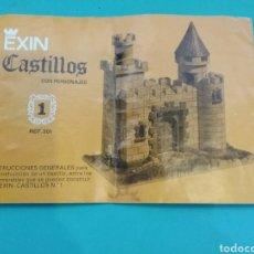 Brinquedos antigos Exin: MANUAL DE INSTRUCCIONES EXIN CASTILLOS REF. 201.. Lote 232104455