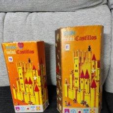Juguetes antiguos Exin: EXIN CASTILLOS SERIE NARANJA S Y E COMPLETOS. Lote 232759055